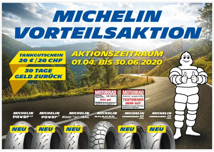 Michelin Vorteilsaktion