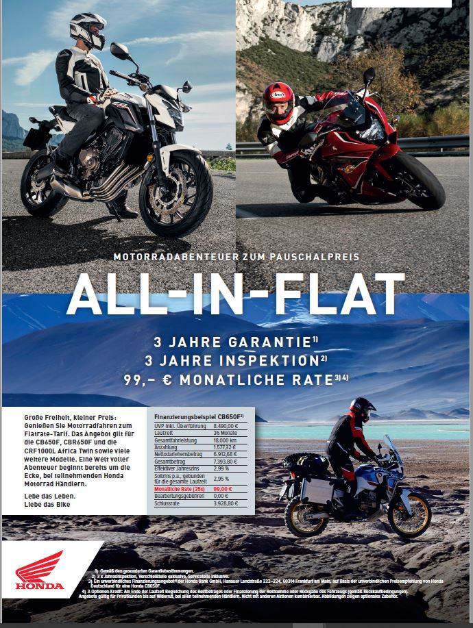 all in flat